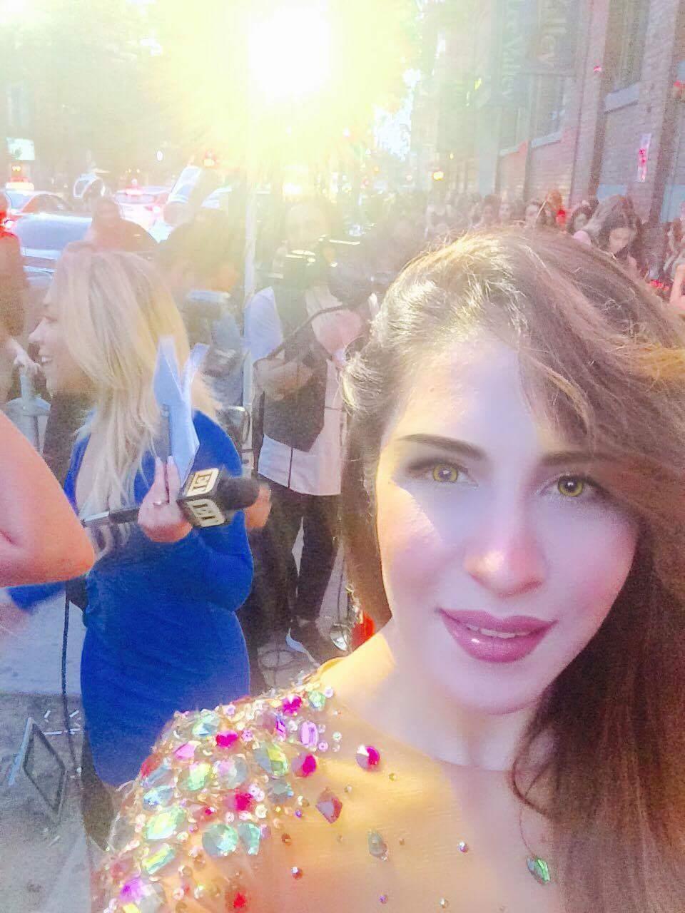 Sabina Pasha attending The Toronto Film Festival