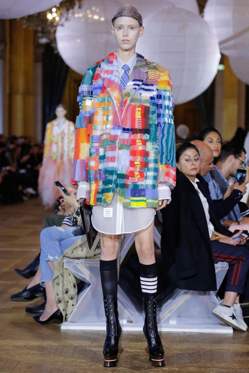 American designer brought showmanship to skillful compositions